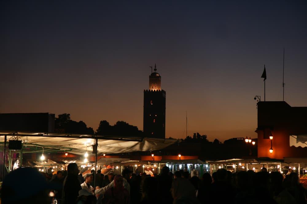 Marocco - Marrakech - Piazza Jemaa El Fna
