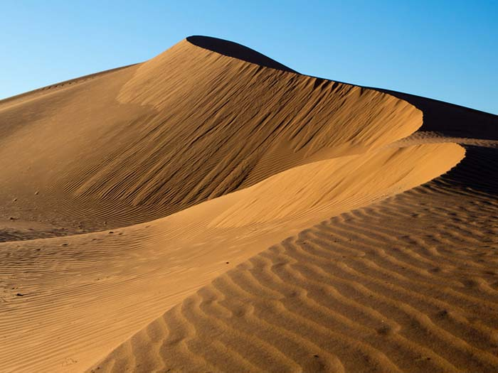 Africa - Marocco - Dune dell'Erg Mhazil (Erg Chegaga)