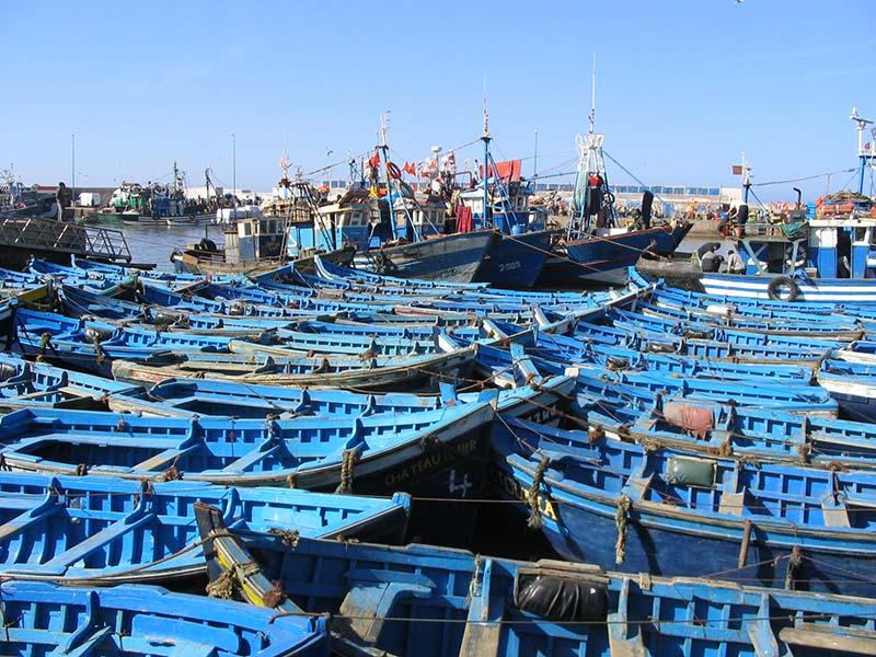 Marocco - Essaouira - barche da pesca