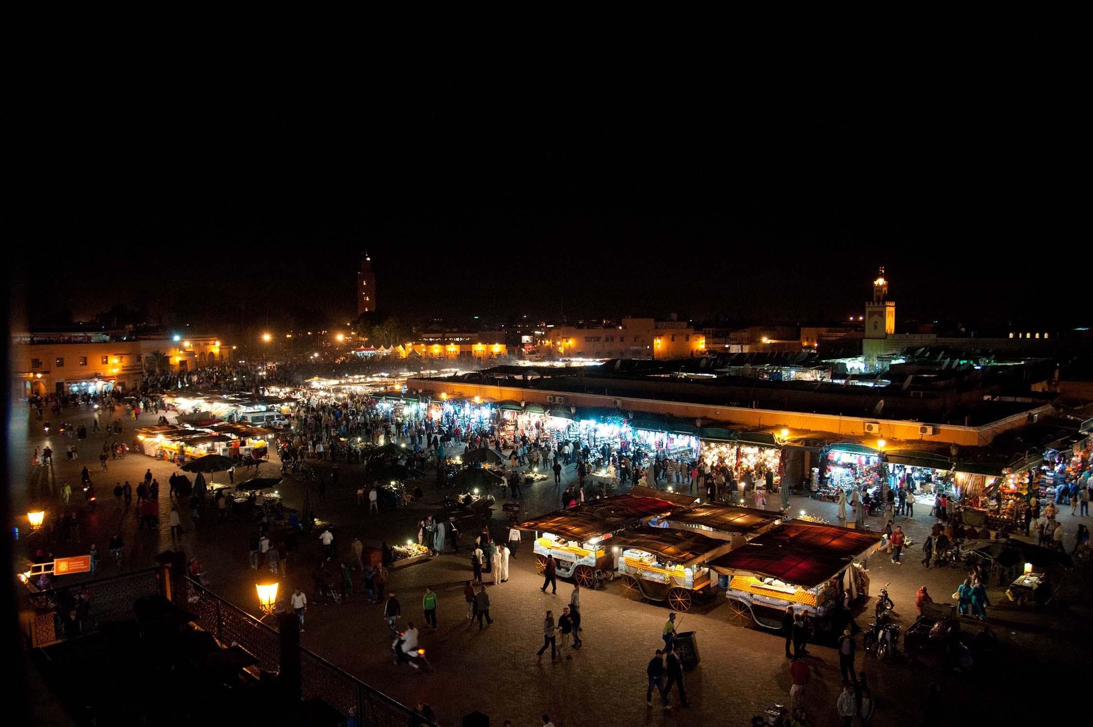 Marocco - Marrakech - Place Jemaa El Fna