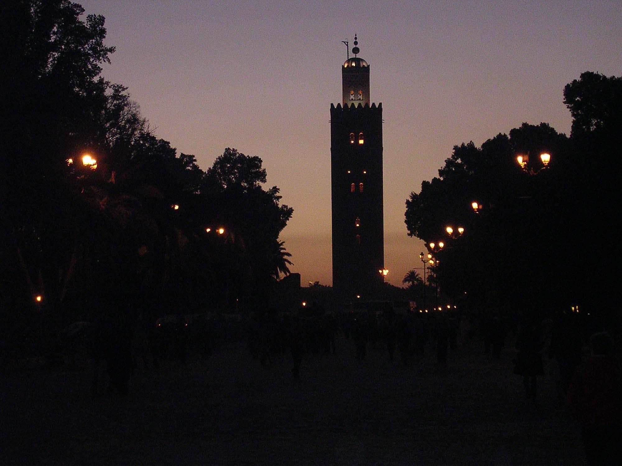 Marocco - Marrakech - la Koutoubia