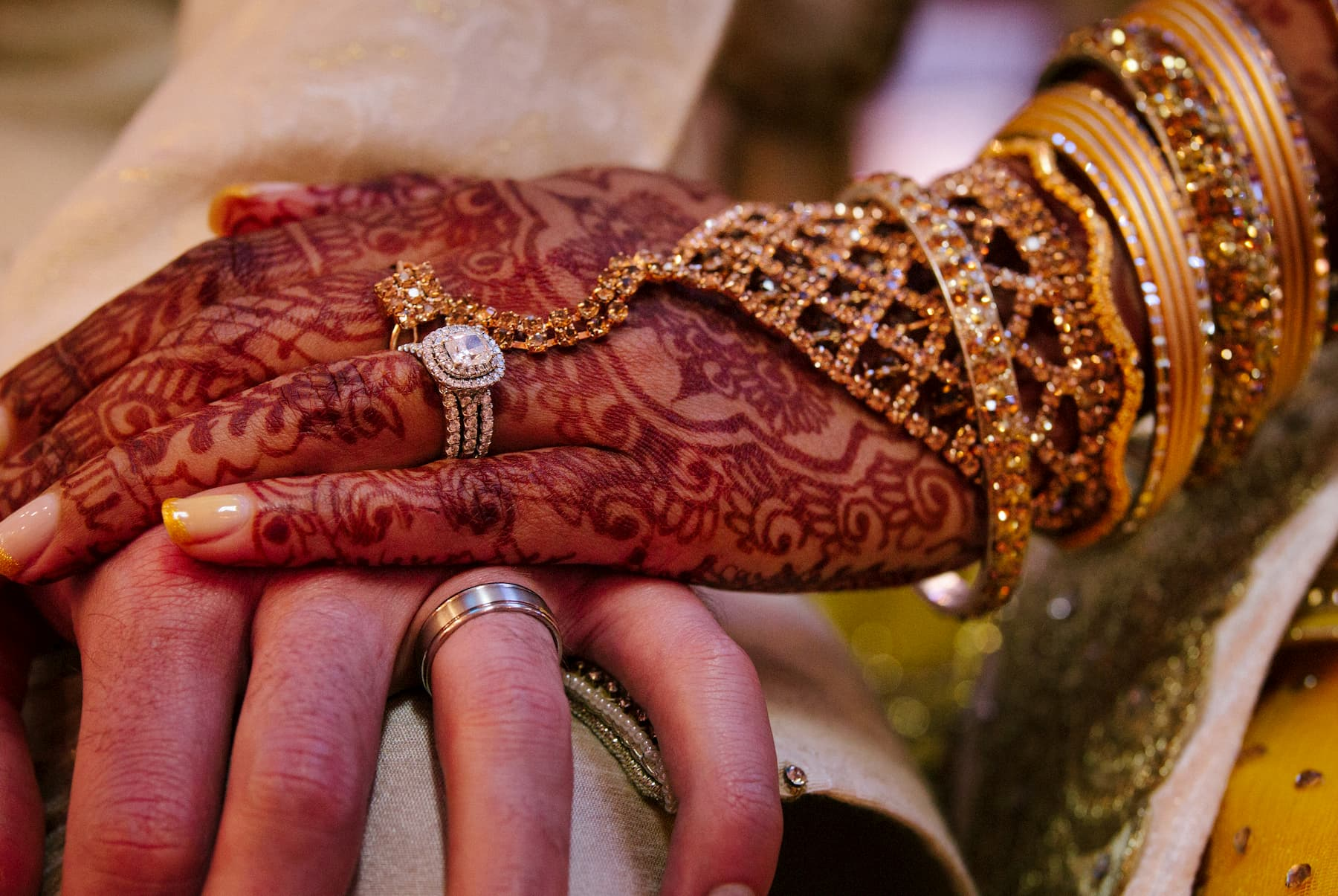 Adventour - India - Henne hands