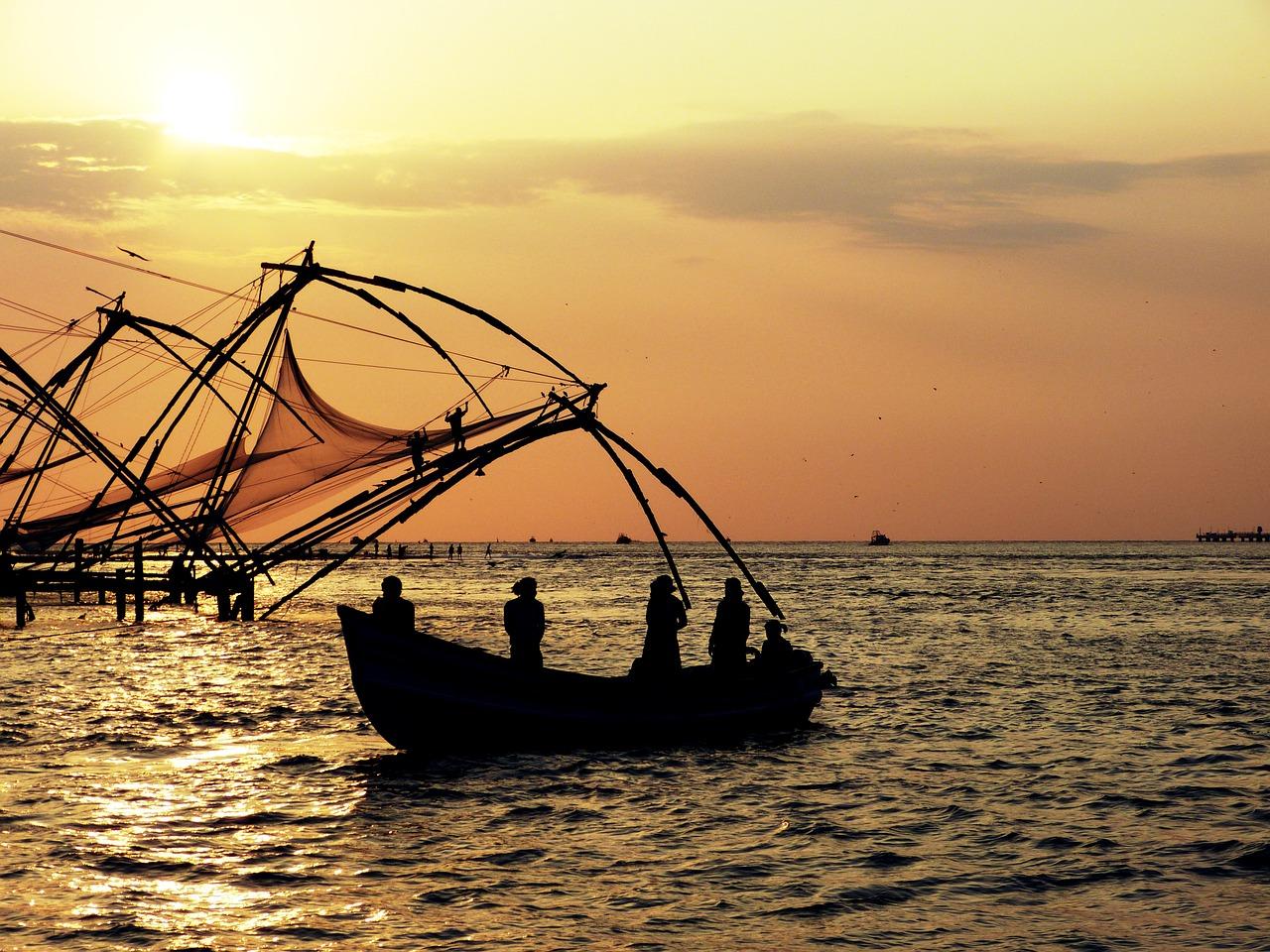 Adventour - India - Kerala cochin sunset