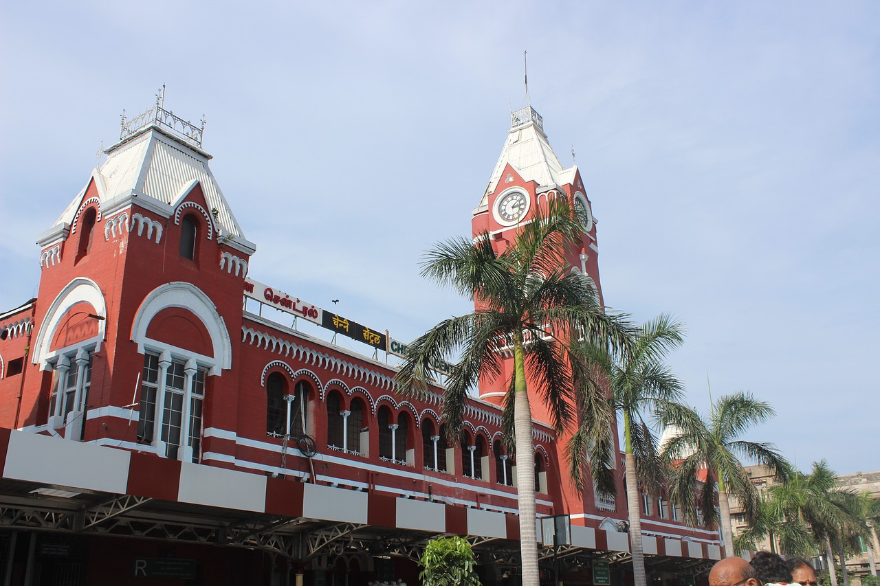 India - Chennai Station