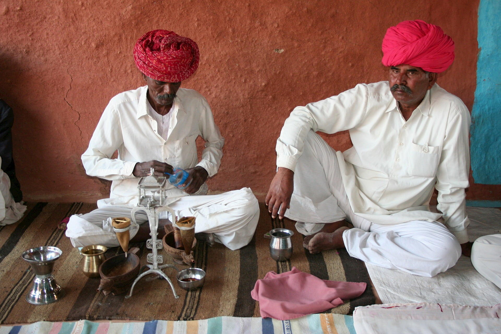 adventour - India - rajasthan - men traditions