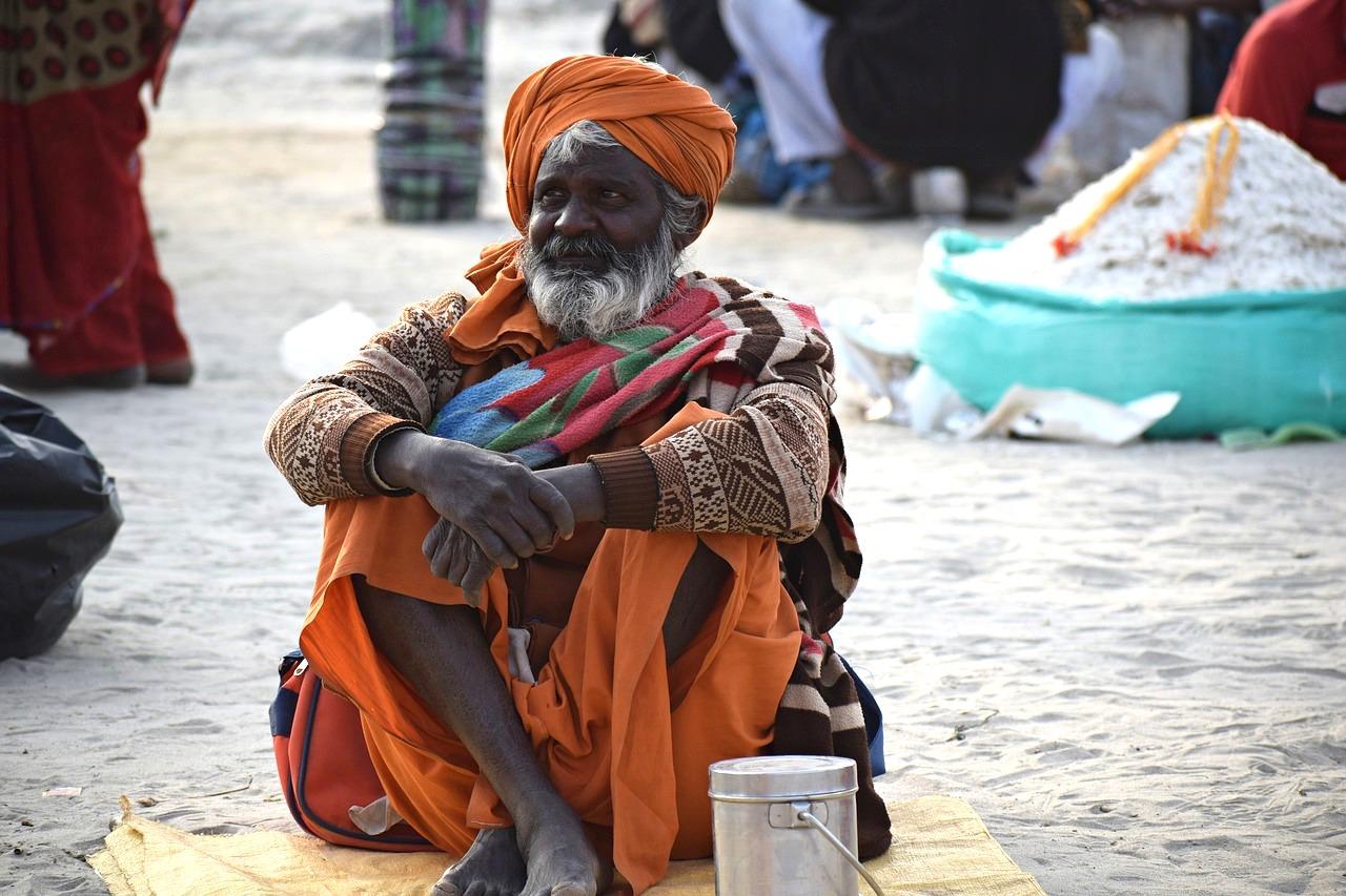 Adventour - India - Gange - Sadhu