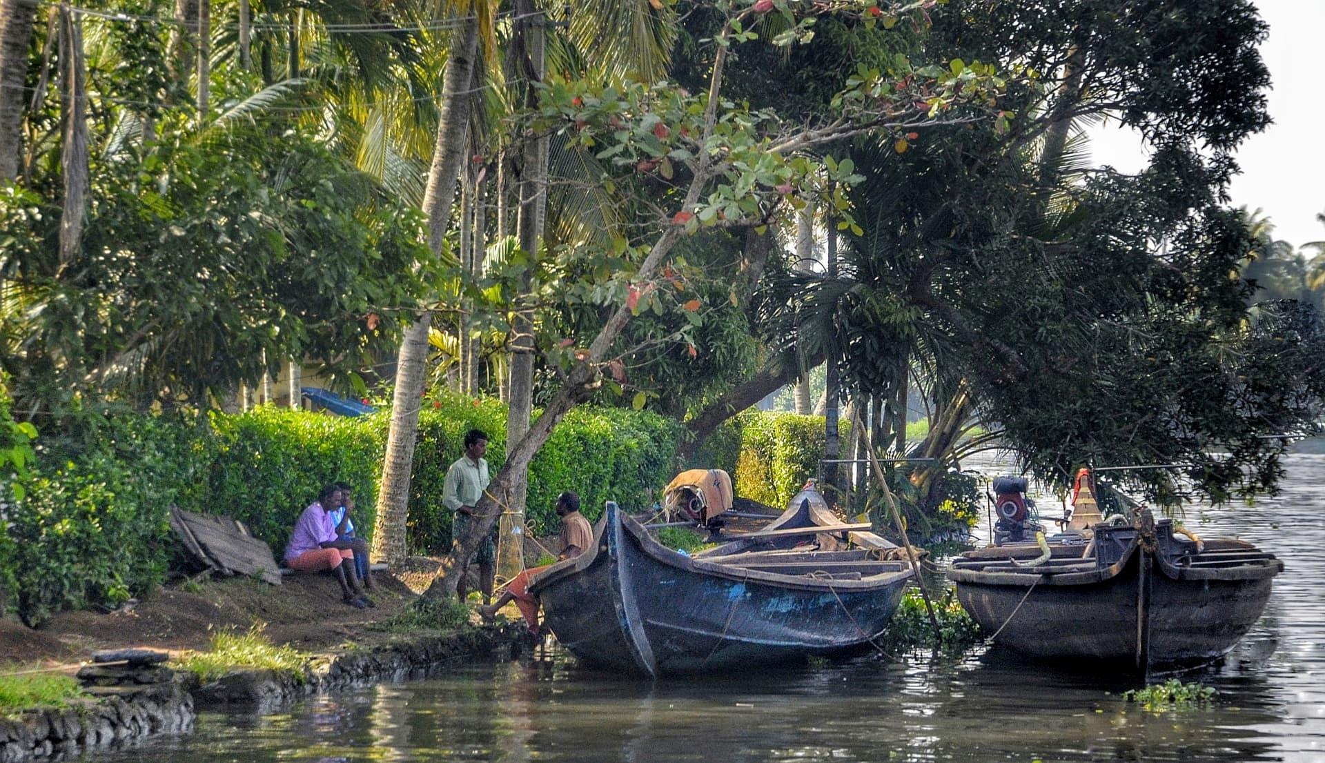 adventour - India - Kerala backwaters