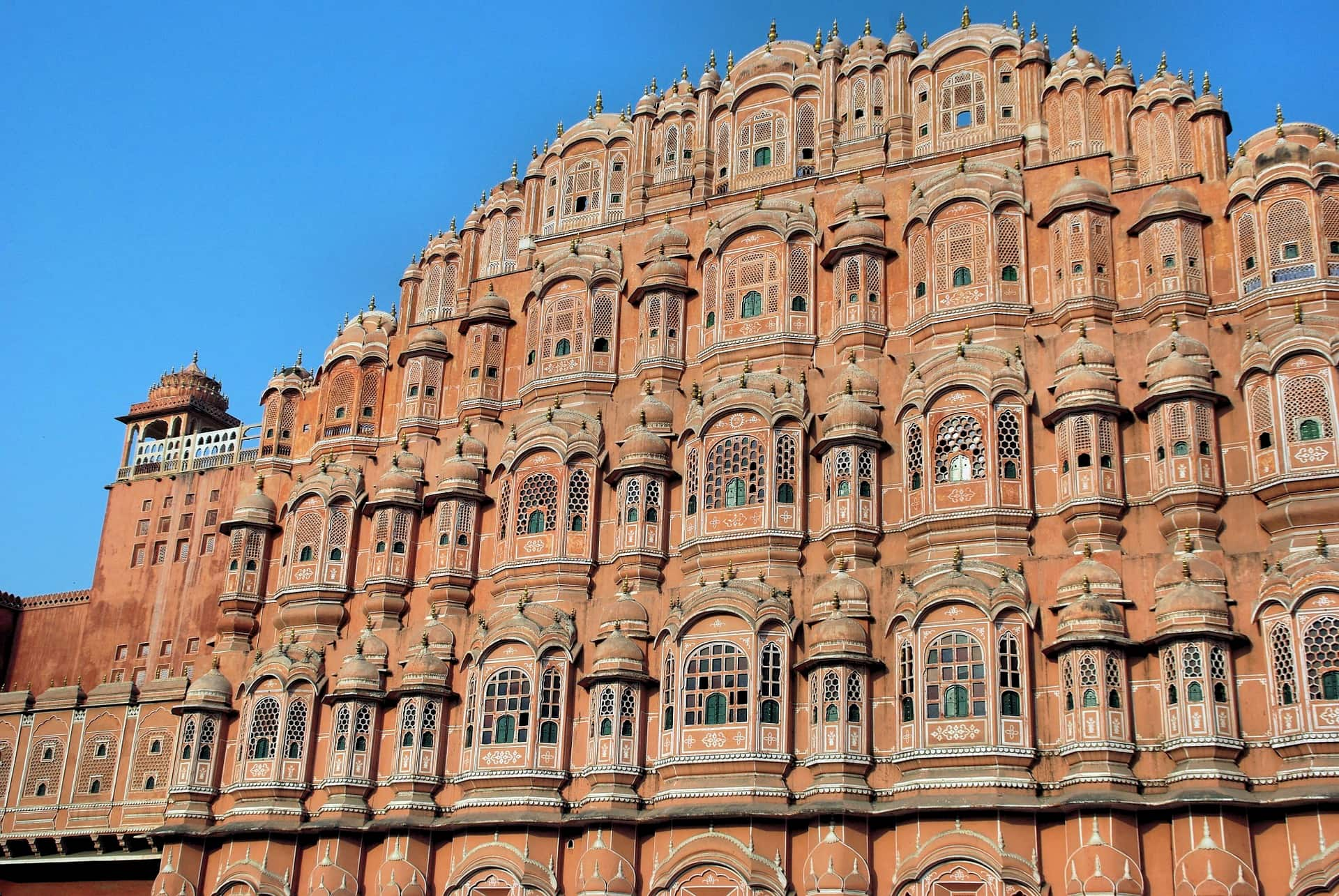adventour - India - rajasthan - jaipur hawa mahal