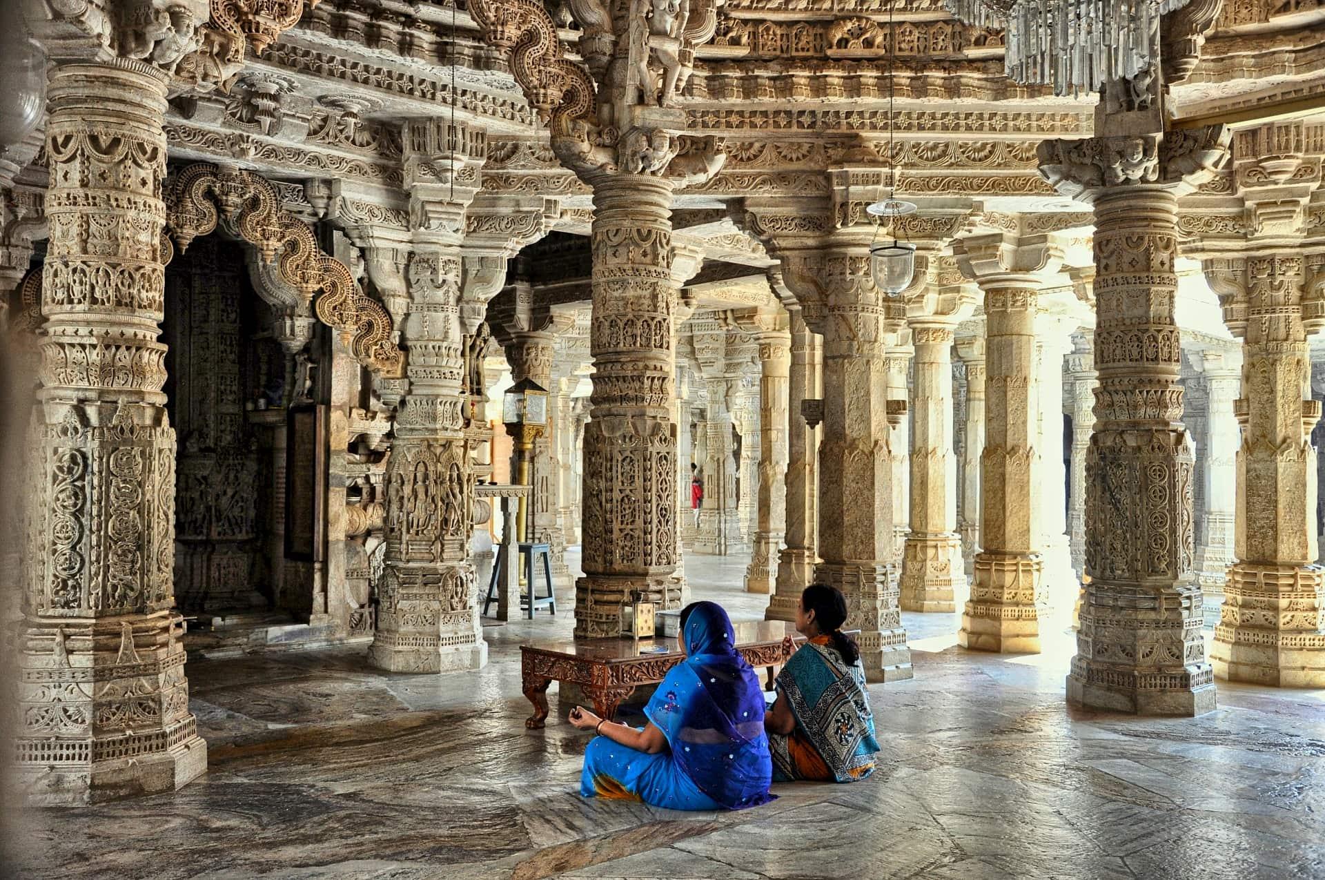 adventour - India - rajasthan - ranakpur temple