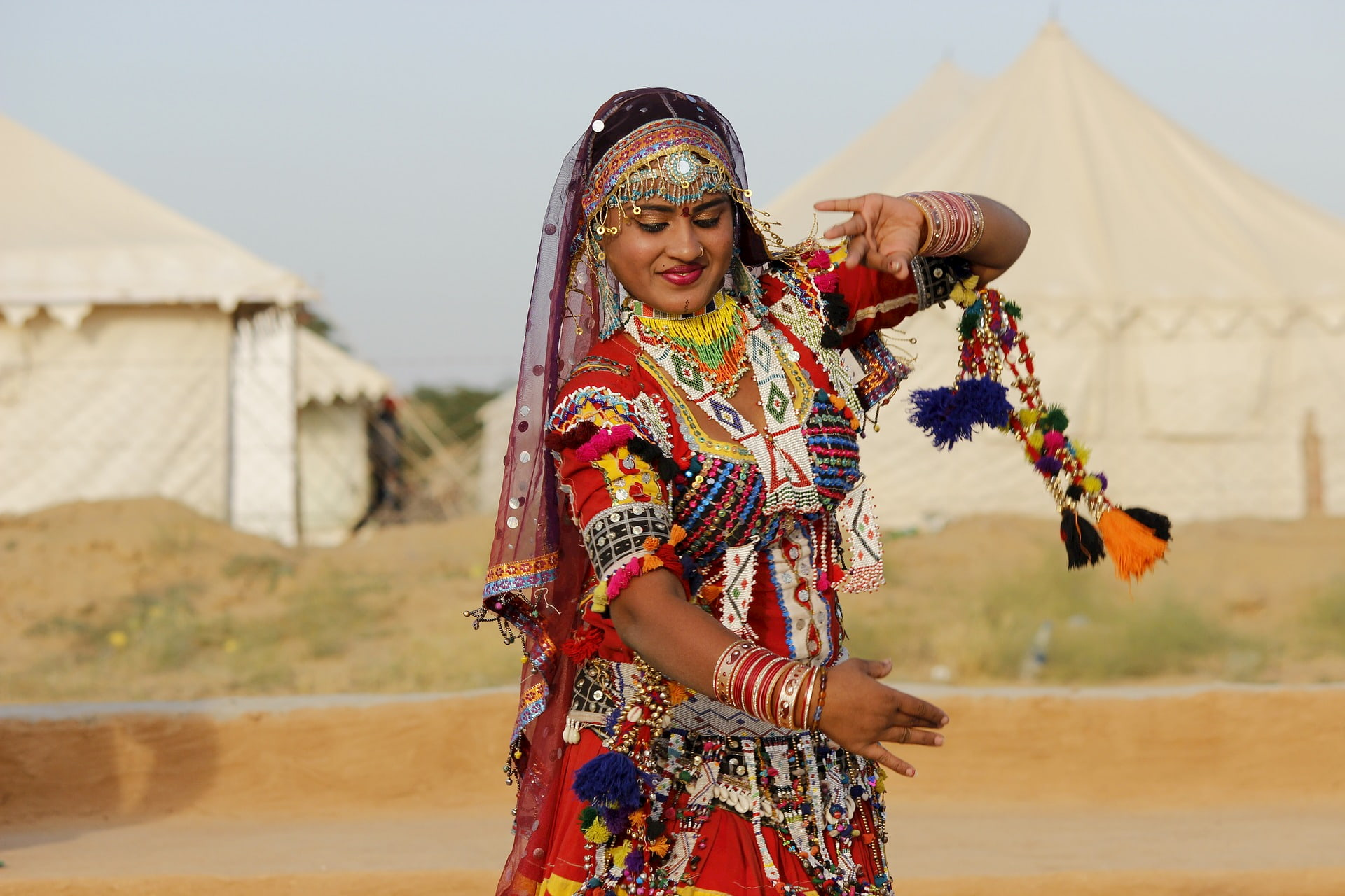 Adventour - India - Rajasthan danzatrice