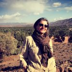 Emanuela Carla Marabini in viaggio nel Marocco del Sud. Adventour - Viaggi su Misura. Adventour - Viaggi su misura verso Marocco, India, Sudafrica, Botswana, Costa Rica.