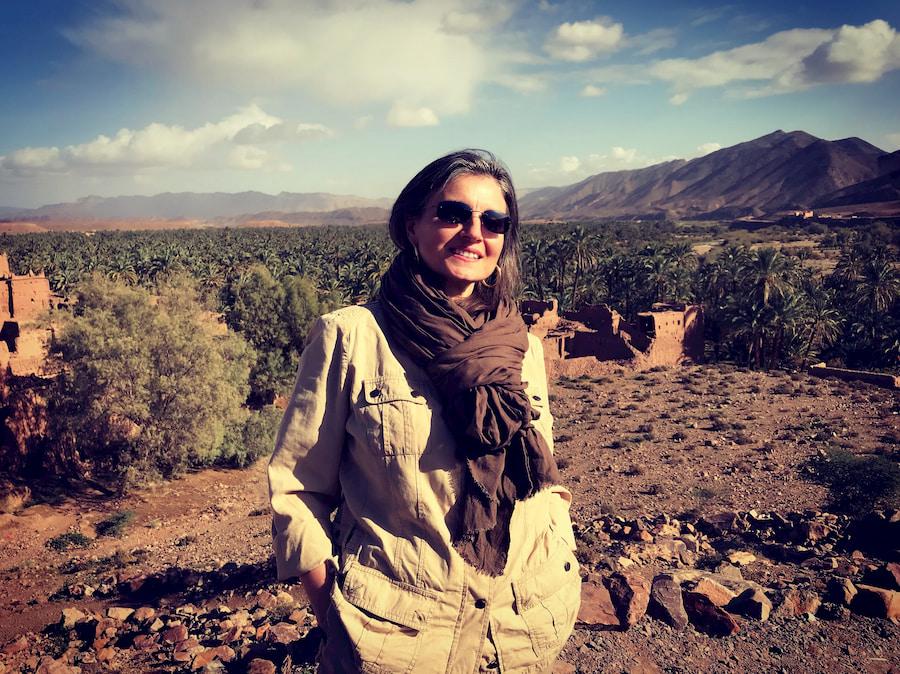 Emanuela Carla Marabini in viaggio nel Marocco del Sud. Adventour - Viaggi su Misura.