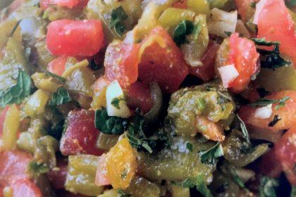 Marocco - Ricetta Insalata cotta di pomodori e peperoni - Adventour - Viaggi su Misura