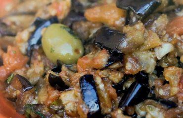 Marocco - cucina - Zaalouk di Melanzane