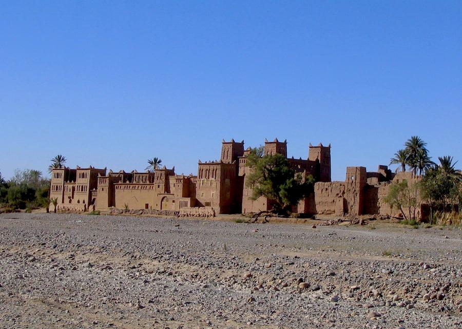 Marocco - Skoura - Kasbah di Amerhidil. Adventour - Viaggi su misura verso Marocco, India, Sudafrica, Botswana, Costa Rica.