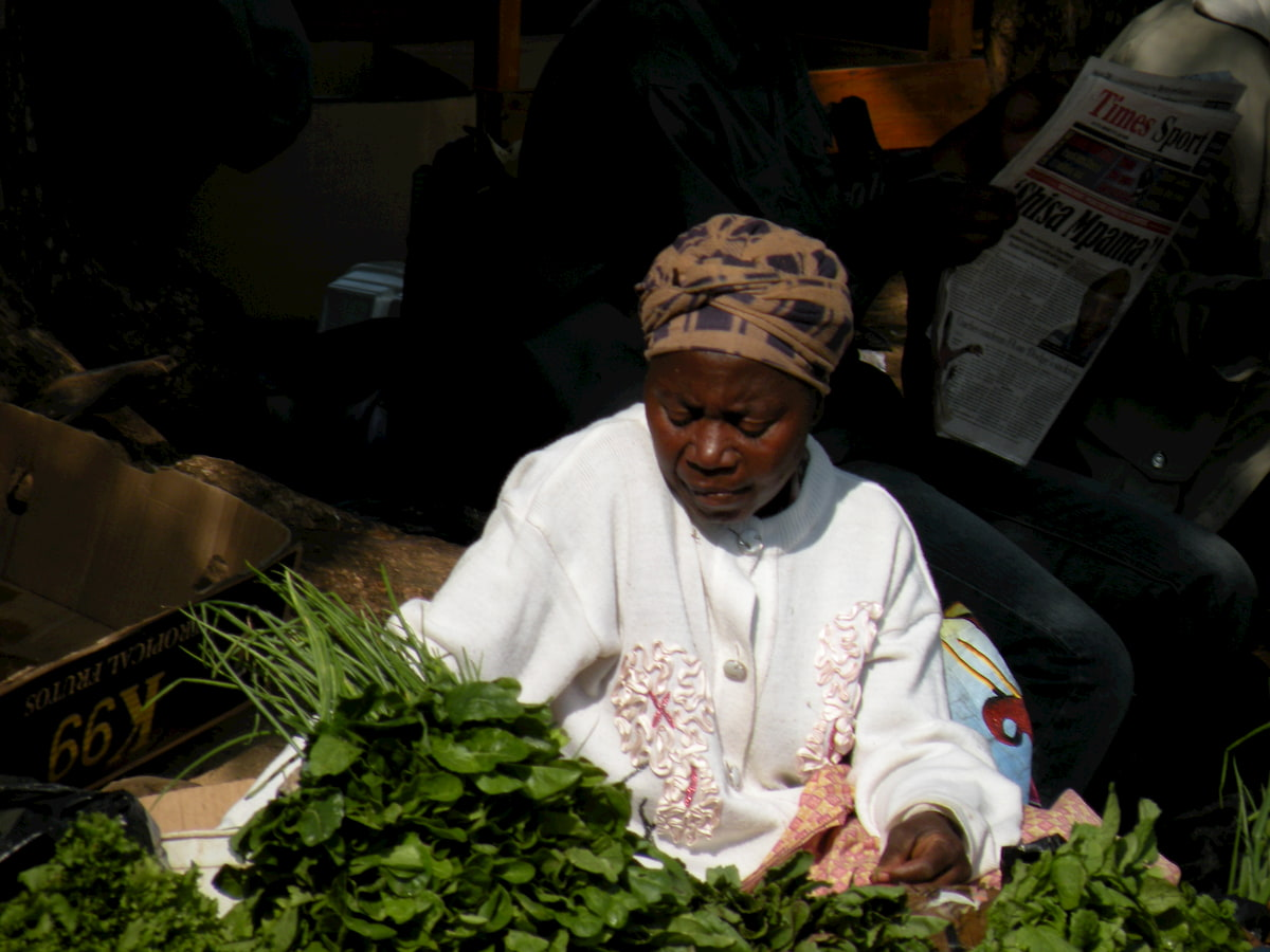 Africa - Swaziland - mercato di Manzini