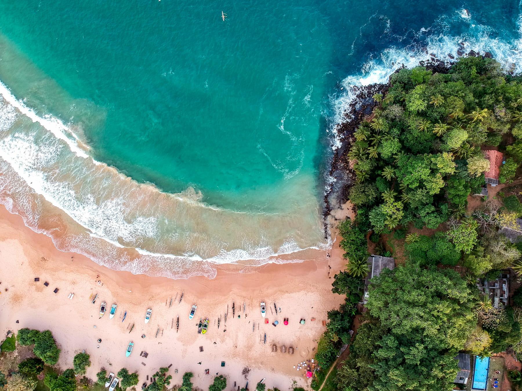 Adventour - Sri Lanka - vista aerea