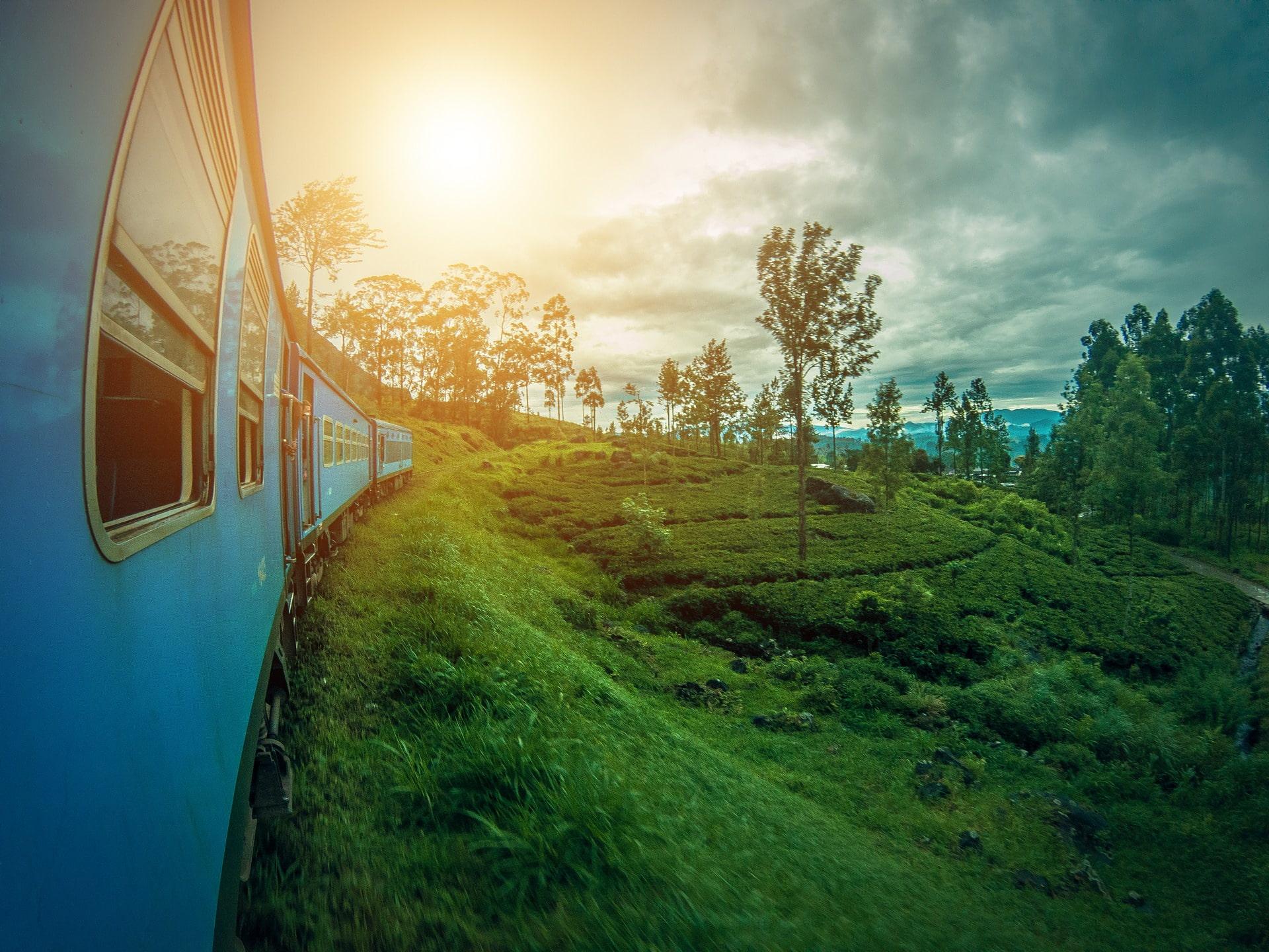 Adventour - Sri-Lanka - treno