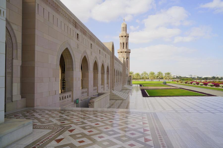 Adventour - Oman - Grande Moschea