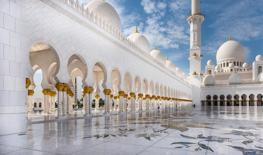 Adventour - UAE - Abu Dhabi moschea