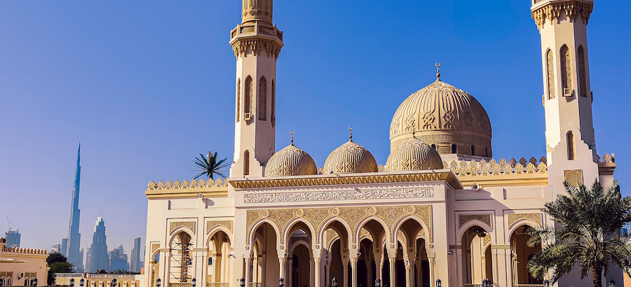 Adventour - UAE - Dubai Moschea