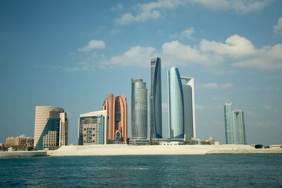 Adventour - UAE - Abu Dhabi skyline