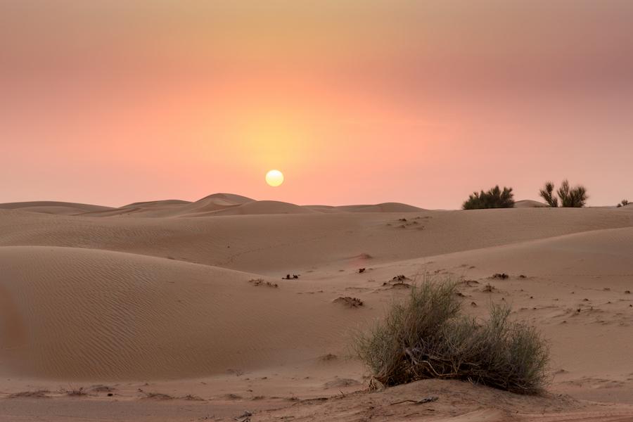 Adventour - UAE - Dubai deserto tramonto