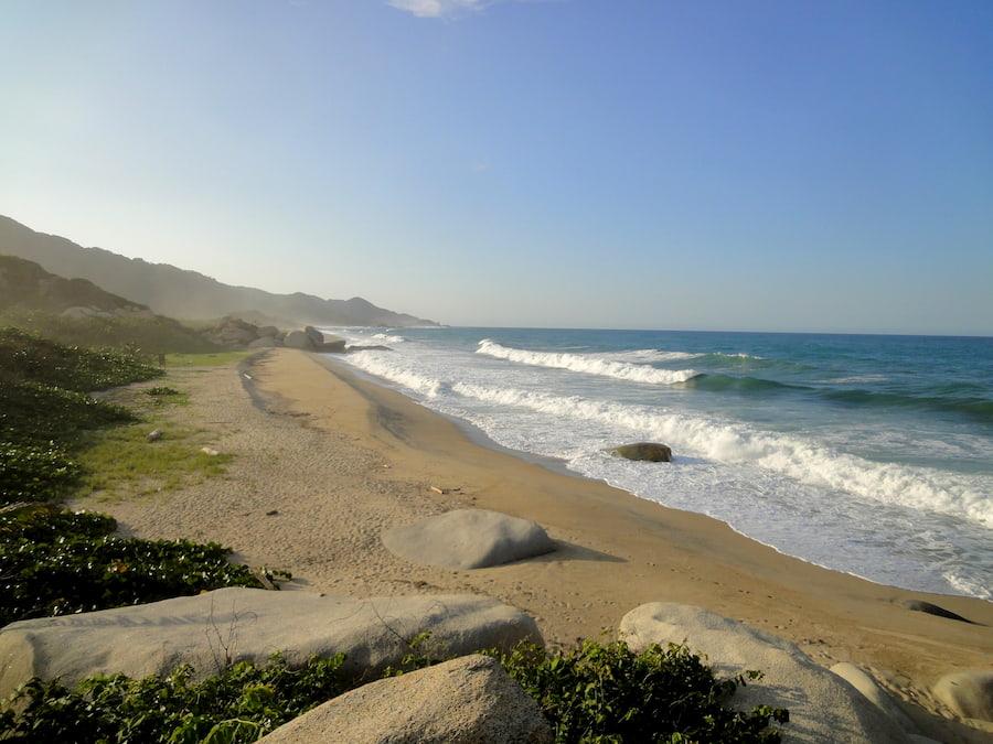 Adventour - Colombia - Tayrona - spiaggia